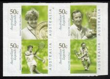 Australia MNH 2003 Australian Legends - Tennis Player-Block of 4 Adhesive