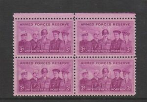 USA - 1955, Armed Forces Reserve Block of 4 - M/M - SG 1069