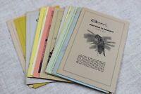 Vintage lot 13 Outdoor World Magazine Supplements Brief Guides 1970s