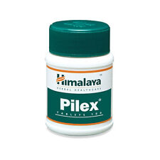 Himalaya Herbal Pilex Piles Hemorrhoids / Fissures Pain Relief Treatment 100tabs