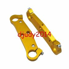 Quality Golden Mini Motor Pocket Bike Front Fork Triple Bridge Plate 33 37 49CC