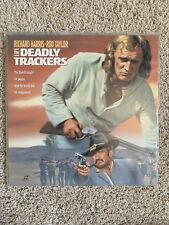 The Deadly Trackers Laserdisc - Richard Harris - VERY RARE