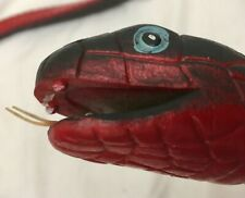 RED BELLIED BLACK SNAKE REPLICA, (RUBBERISED)