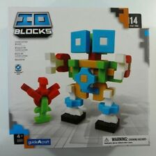 "Guide Craft ""IO BLOCKS"" -114 Piece Set of Uniquely Shaped Construction Blocks."