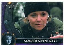 Stargate SG1 Season 7 Promo Card P3