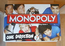 ONE DIRECTION MONOPOLY BOARD GAME - COMPLETE - EXCELLENT CONDITION