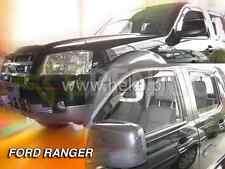 Saute vent FORD RANGER 4-porte 2012-aujourd/'hui 4-tlg HEKO Foncé Déflecteurs