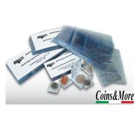 Bustina Doppia per monete Periziate a due posti 45x45mm CONFEZIONE DA 100 pz.