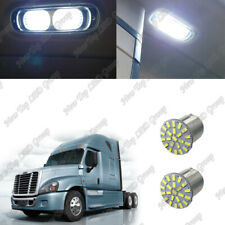 2x 1156 Interior Led Bulbs For 2008 2017 Freightliner Cascadia Sleeper Cab Light