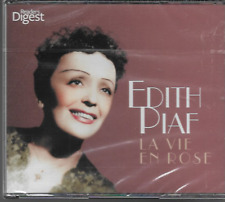 READERS DIGEST EDITH PIAF LA VIE EN ROSE 3 CD BOXSET NEW/SEALED