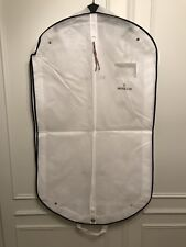 Moncler Authentic White Solid Garment Travel Bag
