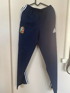 LSR18466 Navy British and Irish Lions Track Pants (with zip pockets) - Large