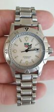 Tag heuer professional 200 Mts quartz  WD1221-k-20 Working