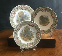Churchill Thanksgiving Colombia Dinner Plate, Salad Plate or Rimmed Soup Bowl