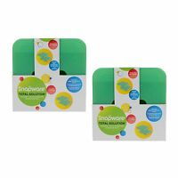 New Snapware Total Solution On-The-Go Medium Rectangle Ice Packs (2 Packs of 2)