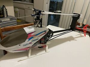 Rc Helicopter Hirobo Lepton EX 500 Bnf with Spektrum receiver and gyro