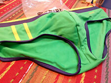Tribe Men's Sexy Green Bikini Swimsuit - 100% Polyester - Size XL - NEW / NWT