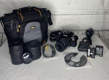 Olympus E510 Digital Camera Lot, Case, Zoom Lens, Batteries, TESTED & WORKS NICE