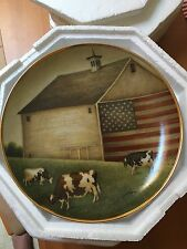Proud Pasture By Lowell Herrero Franklin Mint Certified Porcelain 8in Plate