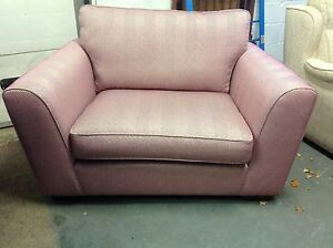 FURNITURE VILLAGE, HIGH ST COLLECTION OXFORD STREET LOVESEAT IN KENTMERE ORCHID