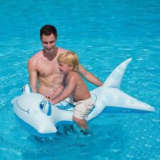 Lil' Hammerhead RIDE-ON Pool Inflatable Party Vinyl SHARK JAWS Ocean Swim 41081