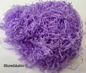 ShredAstic ® LILAC SHREDDED TISSUE PAPER Gift baskets hampers Crafts Easter