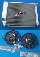 5 ROW radiator + 2* fans for Ford FALCON XA/XB/XC/XD/XE FAIRMONT 302/351 V8 MT