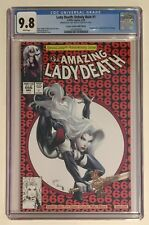 LADY DEATH UNHOLY RUIN #1 • CGC 9.8 • CREEPY CRAWLER NIGHT EDITION VARIANT 1:5
