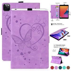 "Smart Folio Leather Case Cover For iPad 5 6 7 8 10.2 Air123 Pro 12.9 11"" Mini 6"
