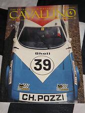 CAVALLINO FERRARI MAGAZINE OC NOV 1990 ISSUE 59 FERRARI DAYTONA 312 GP 212 INTER