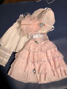 "Vintage Pattikins Doll Dress for 16""-18"" Composition Dolls Dress Pantaloons Bonn"
