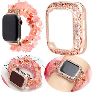 Bling Diamond Protective Bumper Case Cover for Apple Watch Series 6 5 4 3 2 1 SE