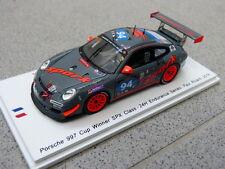 Porsche 911 997 Cup Winner SPX 24h Paul Ricard 2016 #94 Spark Modellauto 1:43