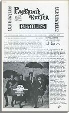 Beatles Paperback Writer Fanzine - Issue #7, April/May, 1978
