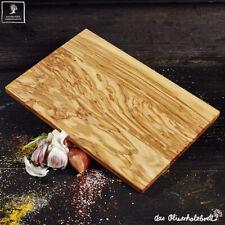 4x Olive Wood Breakfast Board Chopping Cutting 11 13/16in