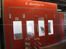 BLOWTHERM HEATED PAINT BOOTH & ATTACHED MIXING ROOM BT665 ....(PAINTRM)