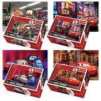 Trefl mini 4 x 54 Stücke Kinder Jungen Disney Pixar Autos McQueen Puzzle NEU
