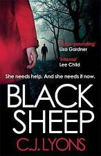 Black Sheep (Caitlyn Tierney Trilogy), Lyons, C. J., New Book