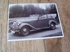 Photo Presse / Press Photograph   BMW 329 Cabriolet 1936 //