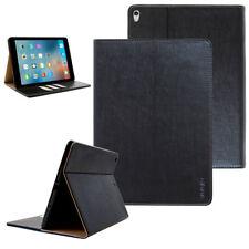 Luxury Leder Schutzhülle für Apple iPad 2 3 4 Tablet Tasche Cover Case schwarz