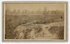 Civil War CDV Baton Rouge Siege of Port Hudson by McPherson & Oliver c1863
