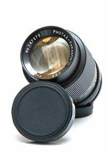 PHOTAX-PARAGON f3.5 135mm Prime Manual Lens M42 Mount