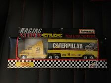 MATCHBOX SUPER STAR TRANSPORTERS CATERPILLAR RACING 95 NIB NSCR001