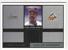 2003 Fleer Flair Greats - Cut of History - Game Used Gold - EDDIE MURRAY - JSY