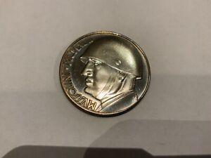 Münze Italien 1943 Mussolini 20 Lira