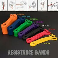 Heavy Duty Strong Resistance Bands Loop Exercise Sport Fitness Gym Yoga Latex UK