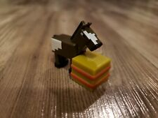 Minecraft Mini Figure, Horse with Hay Bale, End Stone Series 6