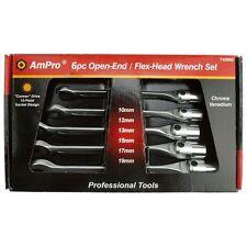 "AmPro 6pc Swivel Socket Comb. Wrench Set (SAE) (3/8"" - 3/4"") T40991"