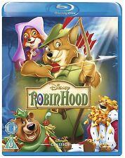 Robin Hood - UK Region B Blu Ray - Walt Disney