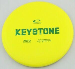 NEW Zero Hard Keystone 175g Yellow Putter Latitude 64 Golf Discs at Celestial